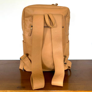 The Axel Leather Backpack