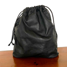 The Maxwell Leather Laundry Bag