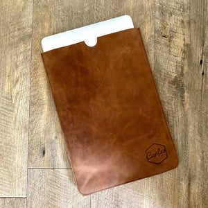 The Bronx Leather Laptop Sleeve
