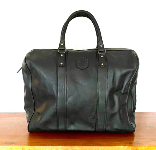 The Roux Oversized Leather Travel Bag