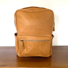 The Beatrix Leather Backpack