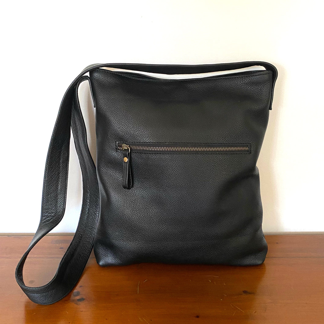 The Dexter Leather Crossbody Bag