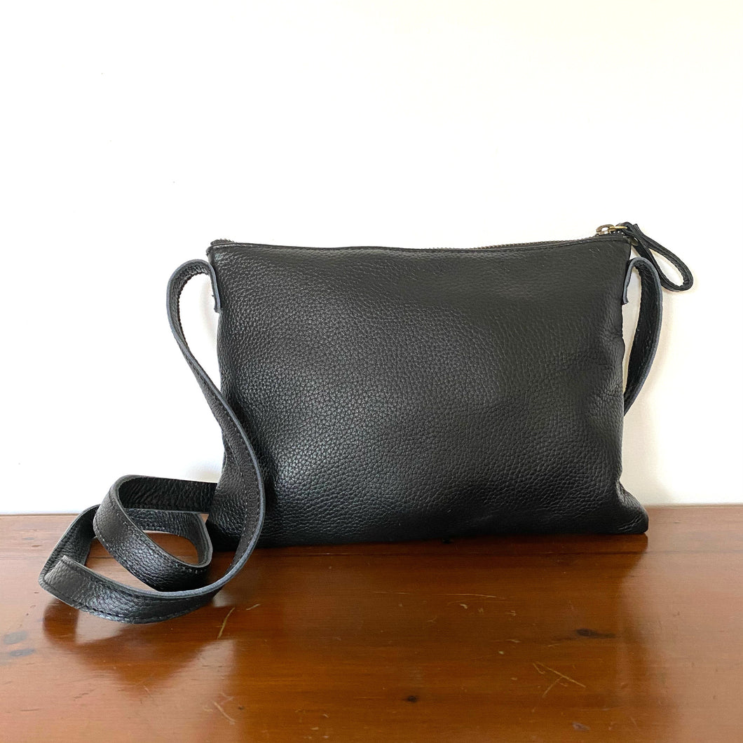 The Roxy Leather Crossbody Bag