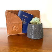 The Texas Leather Passport Wallet