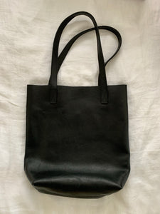 The Onyx Leather Tote