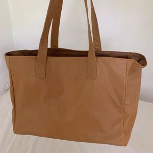 The Nixon Leather Shopper Bag