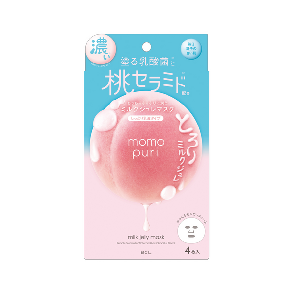 Momo Puri Milk Jelly Masks