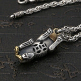 Real 925 Sterling Silver Pendant Brave troops (Pi Xiu)