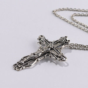 Real 925 Sterling Silver Pendant Crucifix Cross Jesus