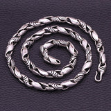 "Huge Heavy Real 925 Sterling Thai Silver S Twist Chain Men's Necklace 20""-26"""