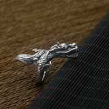 Men's 925 Sterling Solid Thai Silver Ring Fine Dragon Size 8 9 10 11 Jewelry