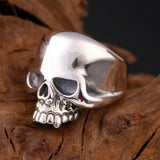 Real Solid 925 Sterling Silver Ring Men's Glaze Skull Size 8 9 10