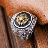 Real 925 Sterling Silver Ring Sun Flower Size 8 9 10 11