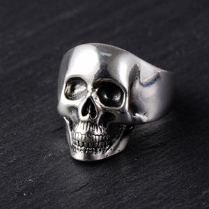 Men's Real 925 Sterling Silver Ring Skull Size 8 9 10 11