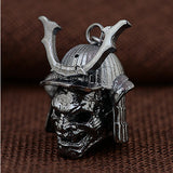 Genuine Solid 925 Sterling Silver Pendant Skull Men's Jewelry