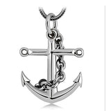 Genuine Solid 925 Sterling Thai Silver Pendant Anchor Men's Women's