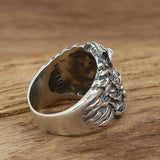 Huge Heavy Lion King 925 Sterling Silver Mens Ring Size 8 9 10 11