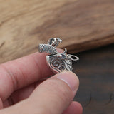 Solid 925 Sterling Thai Silver Pendant West Cowboy Gun Fiveshooter Men's Women's