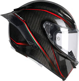 AGV PISTA GP R E2205 MULTI - GRANPREMIO MATT CARBON/RED INTEGRALHELM