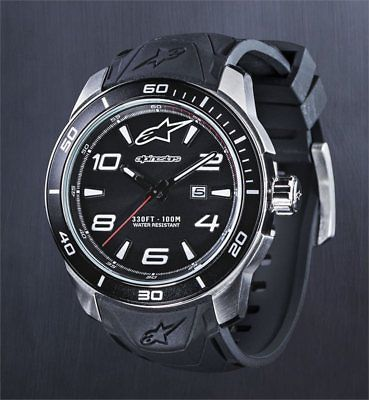 Alpinestars Tech Watch 3H Silicon Strap Uhr