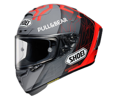 Shoei X-Spirit III  Marquez Black Concept 2.0 TC-1 Helm