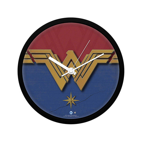 DC Comics Wonder Woman Logo Wall Clock