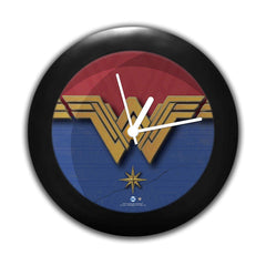 DC Comics -Wonder Women Logo Table Clock Gift Set Birthday Gift