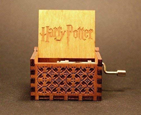 Harry potter Hand Cranked Wooden Music Box