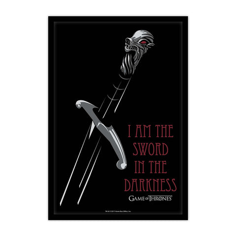 Game of Thrones I Am The Sword Poster