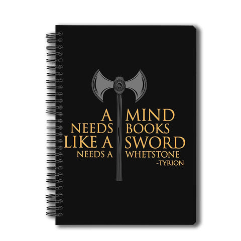 Game of Thrones - A Mind Needs Book Notebook A5
