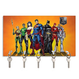 DC Comics Justice League Keychain Holder