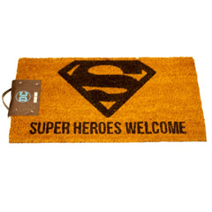 DC Comics Coir Doormat of Superman Welcome
