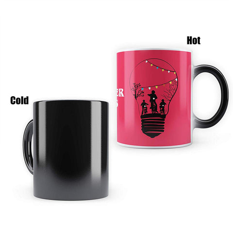 Stranger Things Bulb - Heat Sensitive Magic Mug