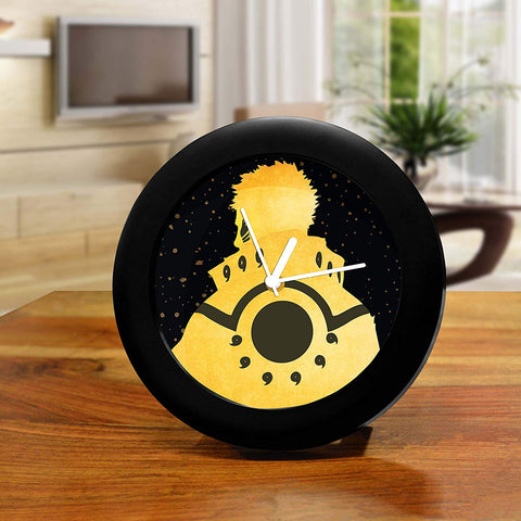 Naruto Bijuu Mode Table Clock