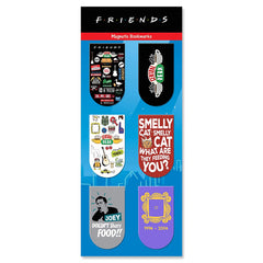 Friends TV Series Pack of 6 Magnetic Bookmarks | Gift for Readers and Book Lovers| Birthday Gift
