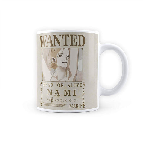 One Piece Nami Wanted Poster - Coffee Mug
