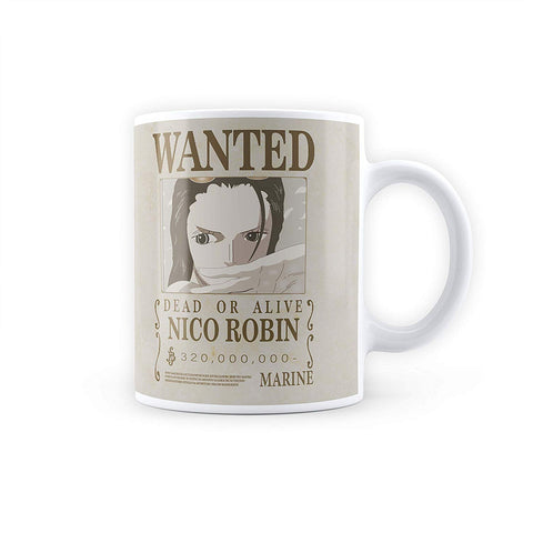 One Piece Nico Robin Wanted Poster - Coffee Mug