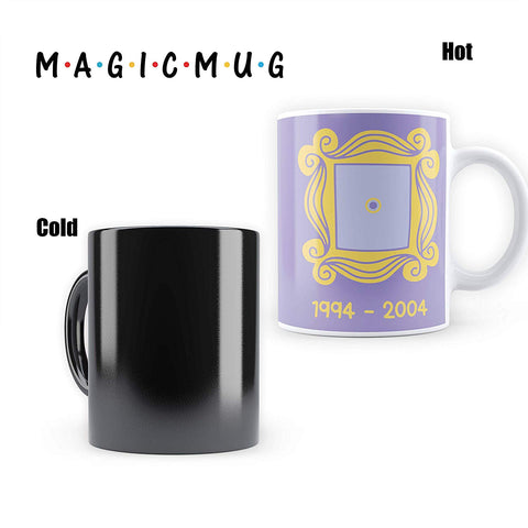 FRIENDS Door Frame - Heat Sensitive Magic Mug