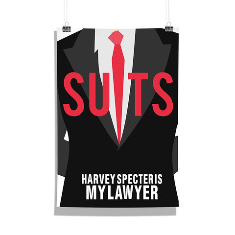 Suits TV Series Harvey Specter is my lawyer Poster