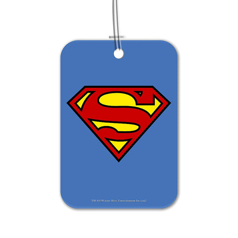 DC Comics Superman Luggage Bag/Suitcase Tag