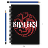 Redwolf Game of Thrones Khaleesi A5 Notebook