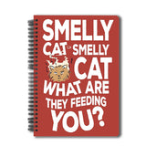 Friends TV Series Smelly Cat A5 Notebook