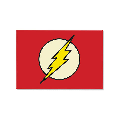 DC Comics Flash Rectangular Fridge Magnet