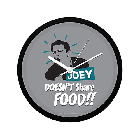Friends Joey Doesn't Share Food Wall Clock