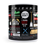 Friends Infographic - Coffee Mug