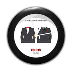 Suits TV Series - Black and White Table Clocks