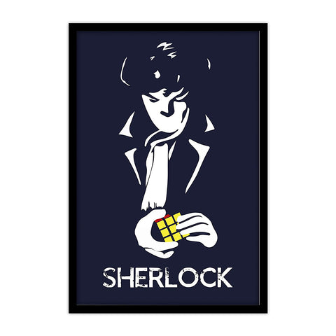 Sherlock TV Series Cube Poster