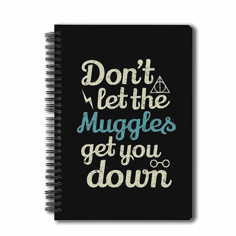 Harry Potter-  Muggles A5 Notebook