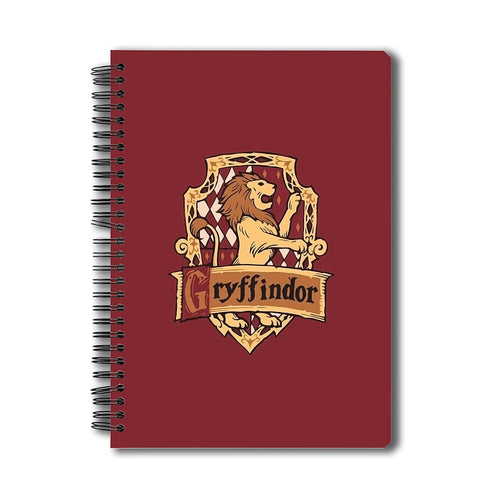 Harry Potter Gryffindor A5 Notebook