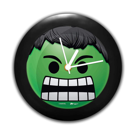 Marvel Hulk Face Table Clock